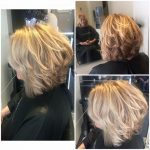 latest work from avant garde hairdressing in wellingborough layered bob