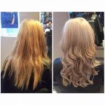 Before and after colour correction by Avant Garde hair dressers in Wellingborough, Northamptonshire