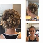 Hair up hairstyle by Avant Garde hair dressers in Wellingborough, Northamptonshire